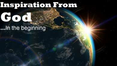 Inspiration From God: In the Beginning