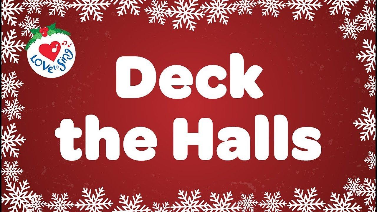 Download Deck the Halls Mp3, Lyrics : fa la la christmas song - Jesusful