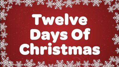 Twelve Days of Christmas Lyrics Mp3