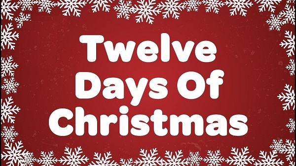 12 days of christmas song mp3 download free