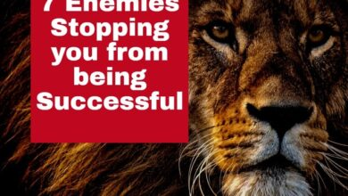 7 Enemies Stopping you from being Successful