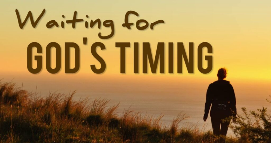 God's Promises And It's Timing