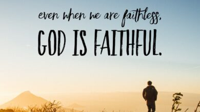 Photo of God Is Faithful