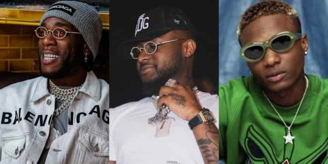 Burna Boy, Davido, Wizkid, Others List as Forbes Africa Icons