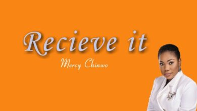 Mercy Chinwo Receive it mp3 Lyrics