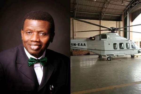 Pator Adeboye's Helicopter Suspends Daddy From Flying