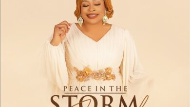 Peace in the Storm by Sinach Mp3, Lyrics